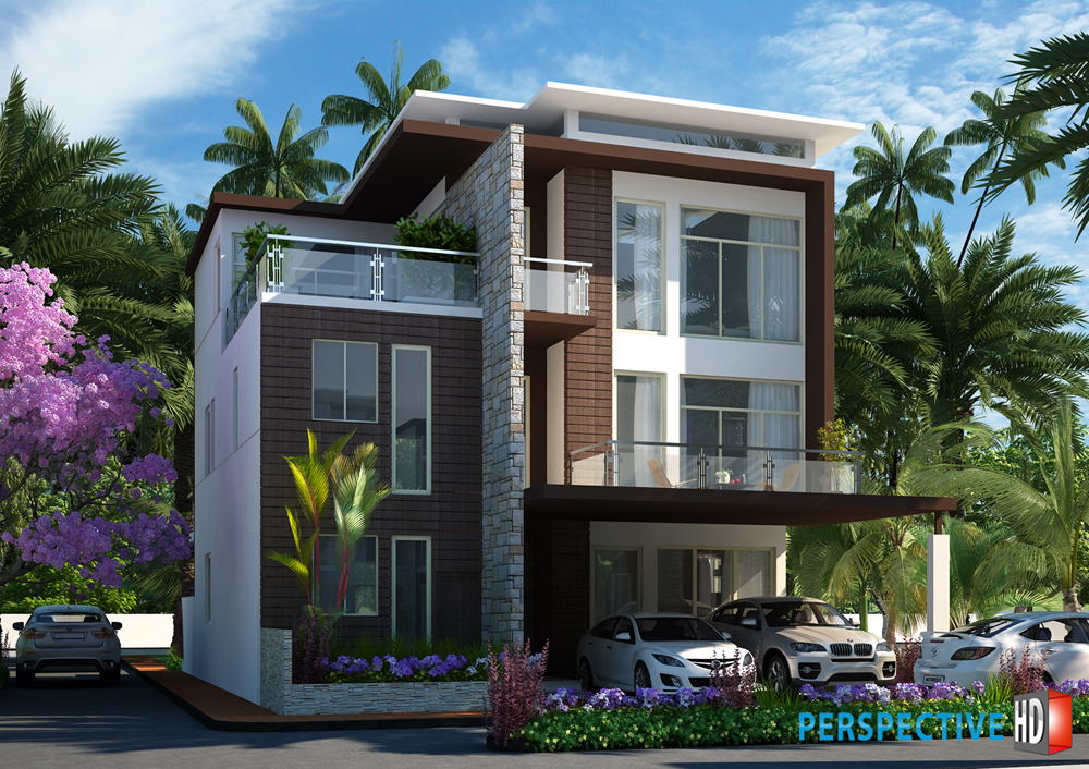 Perspective hd 3d walkthroughs 3d perspectives 3d animation vfx for Architectural design homes pictures